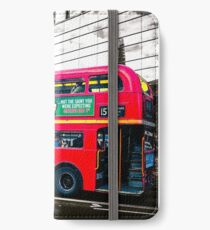 London Bus iPhone Wallet