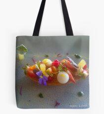dessert fleuri Tote Bag