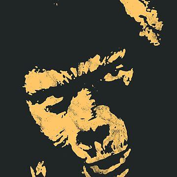 General Aldo Ape 'NO!' vintage yellow 1973 by MediaBee
