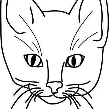 crazy cat by Danigeheb