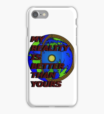 my reality (hollow earth) iPhone Case/Skin
