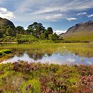 Liathach . Loch Clair. Torridon. Scottish Highlands. by PhotosEcosse