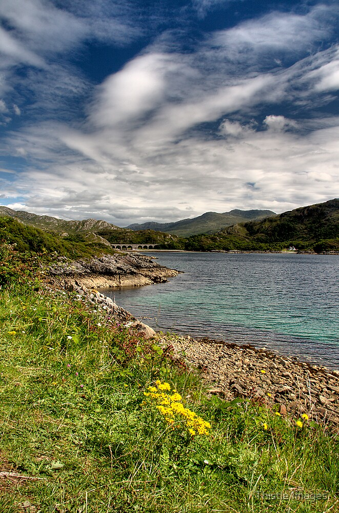Loch nan Uamh by Thistle Images