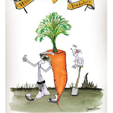 Funny Yorkshire 'big carrot' by tonyfernandes1