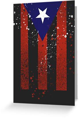 Puerto Rican Flag by Sebastián Rivera
