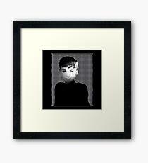 Hollywood spotlight Framed Print