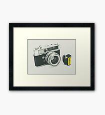 Retro photography Framed Print