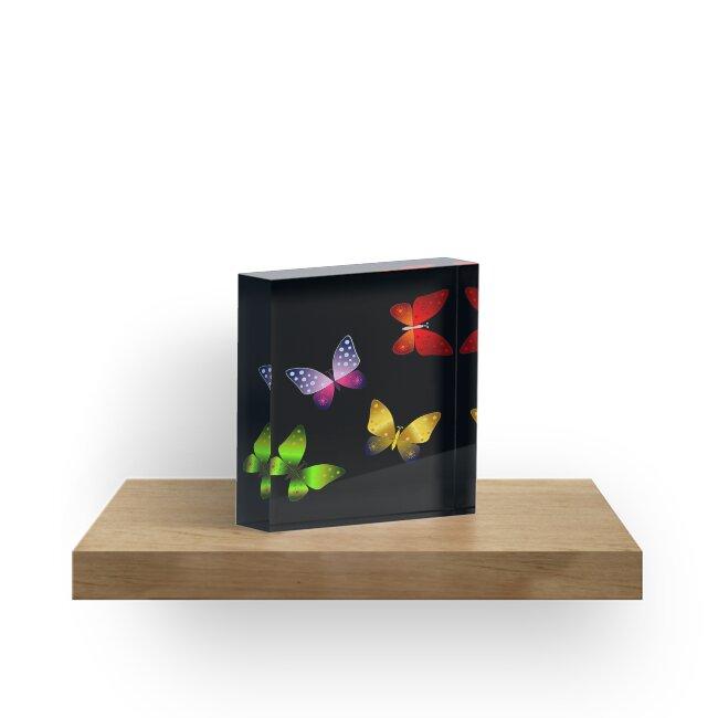 Vibrant Butterflies by jolly3434