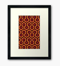 Overlook Hotel Carpet (The Shining)  Framed Print