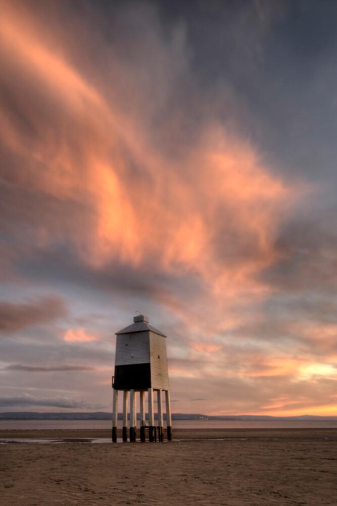 Burnham-on-sea wooden Lighthouse by igotmeacanon