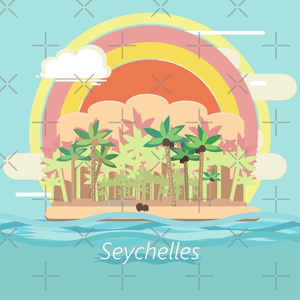 Seychelles islands by archiba