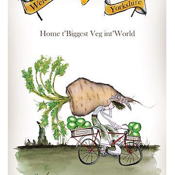 Funny Yorkshire 'big parsnip' by tonyfernandes1