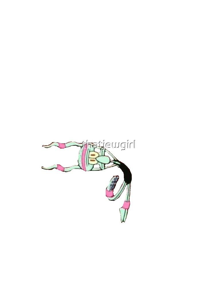 Dancing squidward by Annie Rosenthal