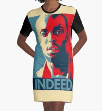 The Wire Graphic T-Shirt Dress