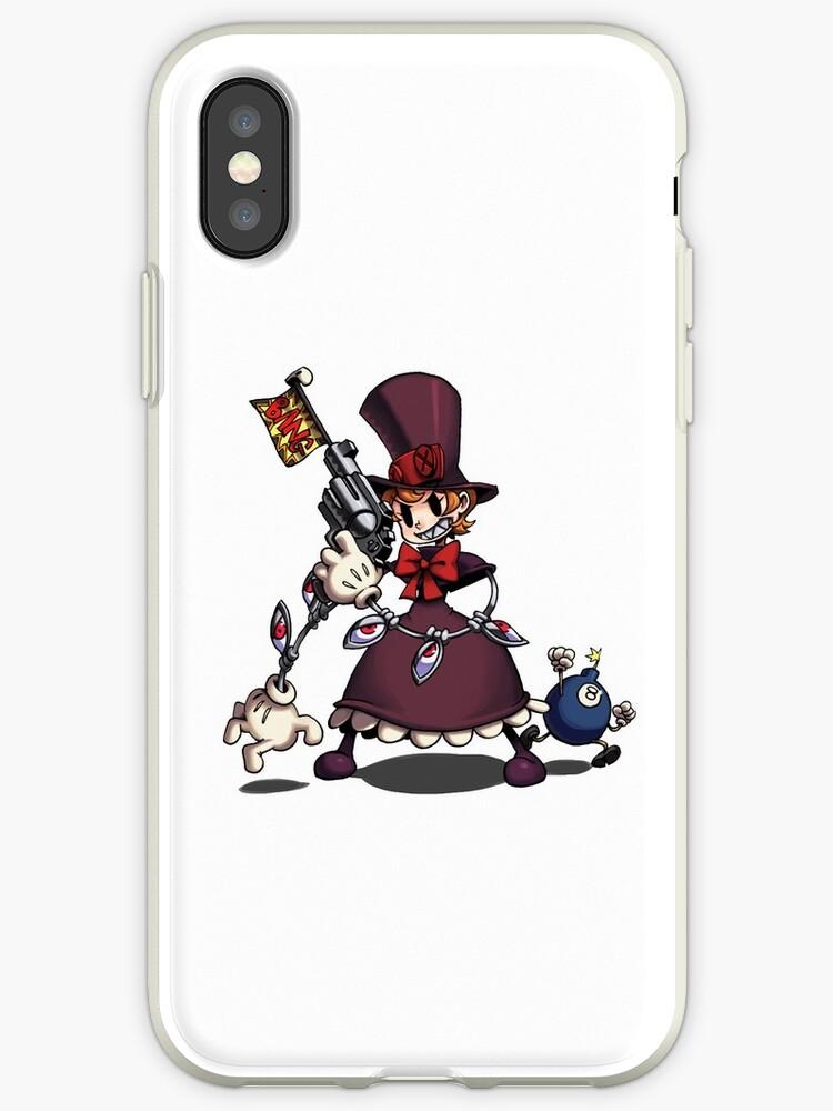 skullgirls peacock iphone