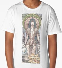 II - THE PRIESTESS (ZeMiaL) Long T-Shirt