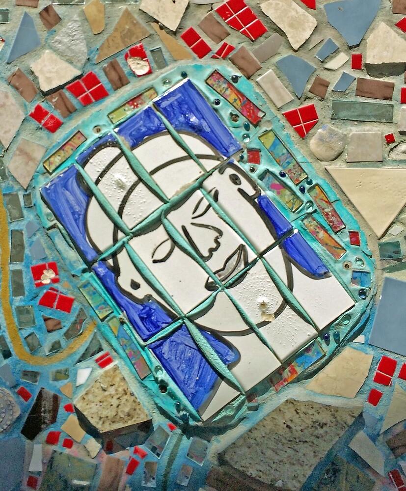 Mosaic No. 8-1 by SandyTaylorNYC