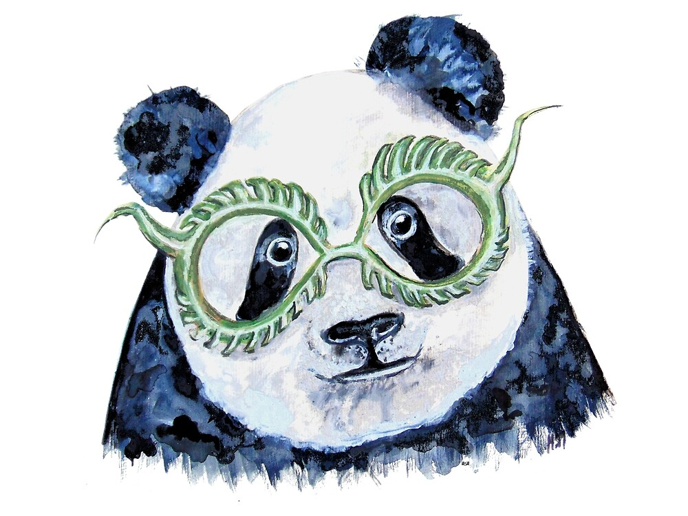 Green Panda by miarsmoller