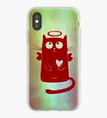 Angelic Cat iPhone Case
