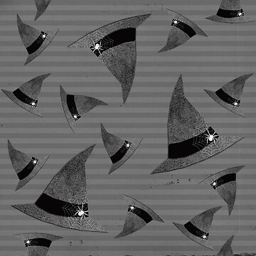 Witches Hat Halloween Pattern by lollylocket