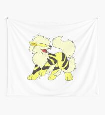 Shiny Arcanine Wall Tapestry