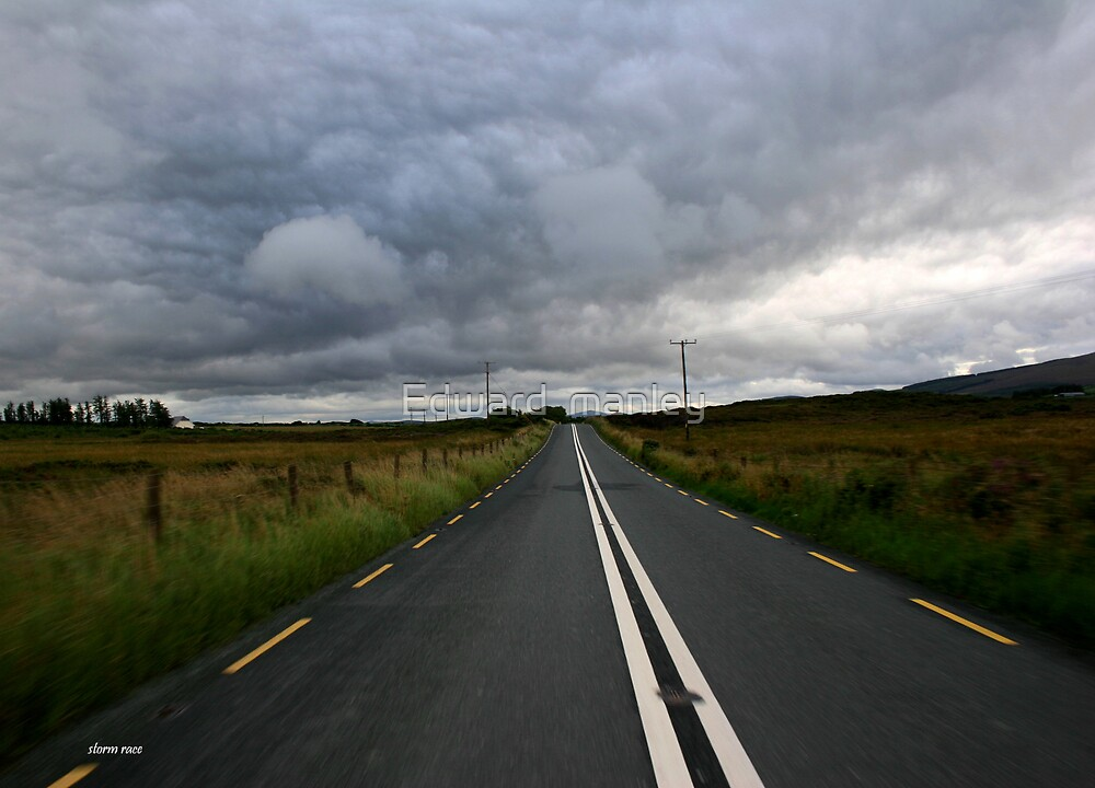 road to storm. by Edward  manley