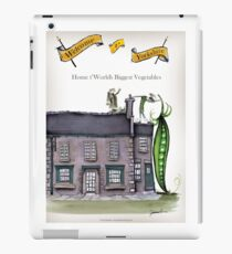 Funny Yorkshire 'big peapod' iPad Case/Skin