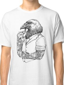 The Crow Man Classic T-Shirt