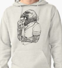 The Crow Man Pullover Hoodie