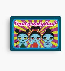 Fruity Oaty Bar! Shirt 2 (Firefly/Serenity) Canvas Print