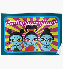 Fruity Oaty Bar! Shirt 2 (Firefly/Serenity) Poster
