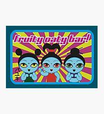 Fruity Oaty Bar! Shirt 2 (Firefly/Serenity) Photographic Print