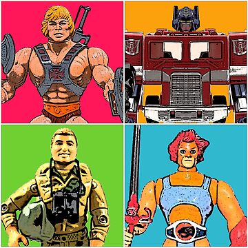 80's Heroes of the Imagination by atomicthumbs78