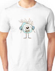 Cute Weird Caricature Illustration Unisex T-Shirt