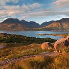 Beinn Alligin. Loch Torridon. Wester Ross. Scotland. by PhotosEcosse