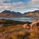 Beinn Alligin. Loch Torridon. Wester Ross. Scotland. by PhotosEcosse