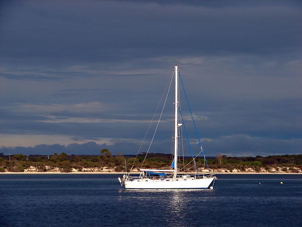 Sailing at Kangaroo Island by Peta Jade