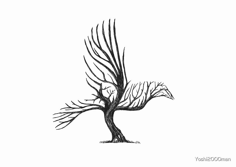 Tree Bird  by Yoshi2000man