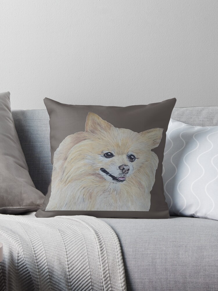 Pomeranian Dog by CarolineArts