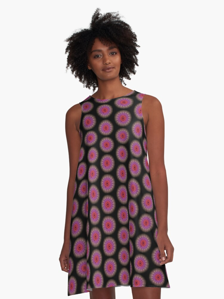 Twirl A-Line Dress Front