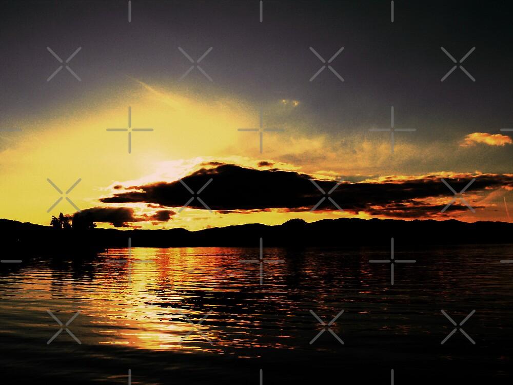 Western Sunset by Gail Bridger