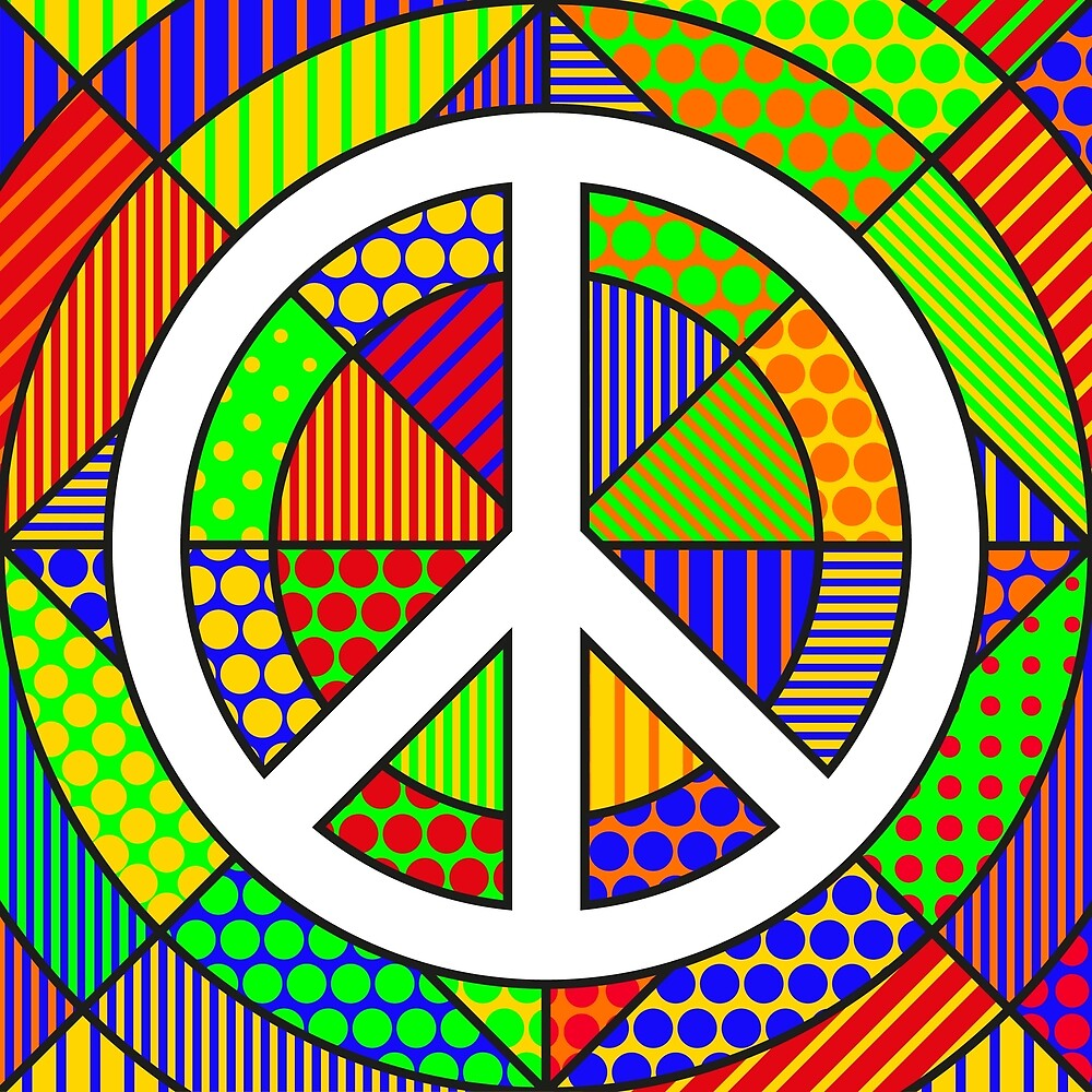 Peace #2 - PoP Art by Hell-Prints