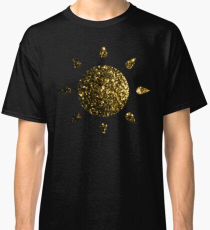 Beautiful Yellow Gold glitter sparkles Classic T-Shirt