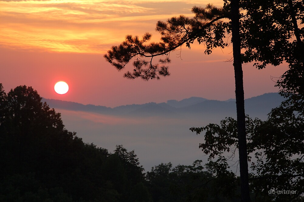 summer smoky sunrise by dc witmer