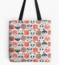 Animals honeycomb Tote Bag