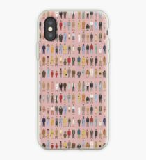Wes Anderson Characters iPhone Case