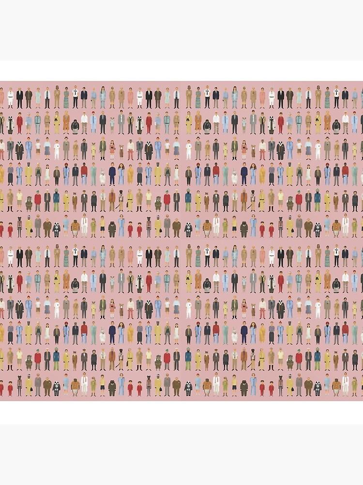 Personajes de Wes Anderson de rb12345