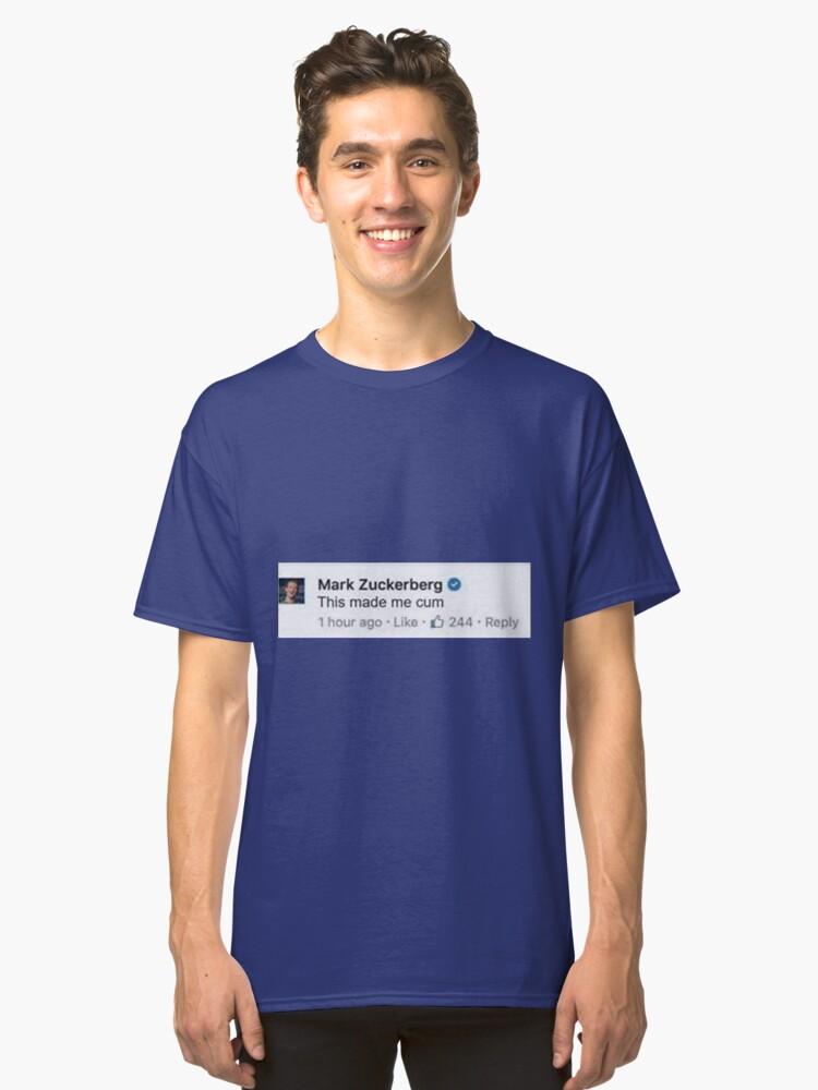 zucc Classic T-Shirt Front