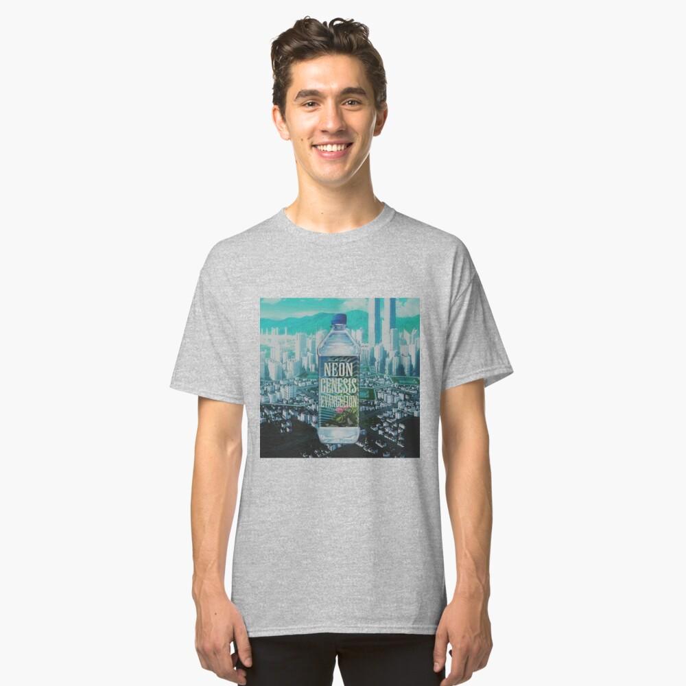 Fiji Genesis Evangelion Classic T-Shirt Front