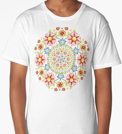 Flower Crown Bijoux Long T-Shirt